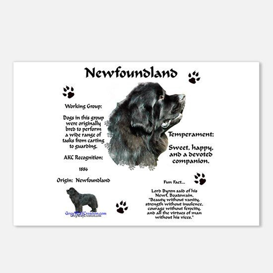 Newf 1 Postcards (Package of 8)