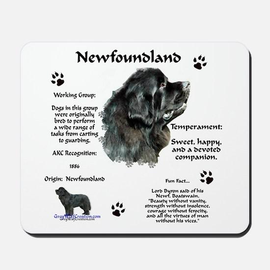 Newf 1 Mousepad