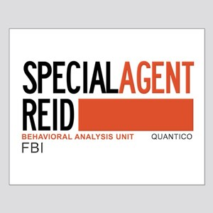 Special Agent Reid Criminal Minds Small Poster