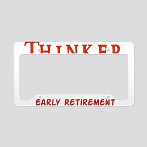 Child-Free Thinker License Plate Holder