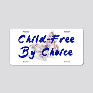Special Child-Free By Choice Aluminum License Plat