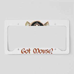 Got Mouse? License Plate Holder