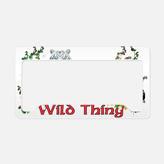 Wild Thing License Plate Holder