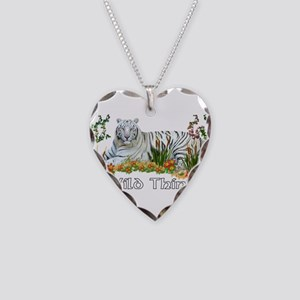Wild Thing Necklace Heart Charm
