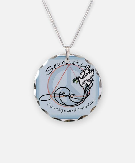 Prayer Gifts Necklace Circle Charm