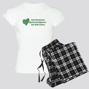 Godless Heathen For Peace Women's Light Pajamas