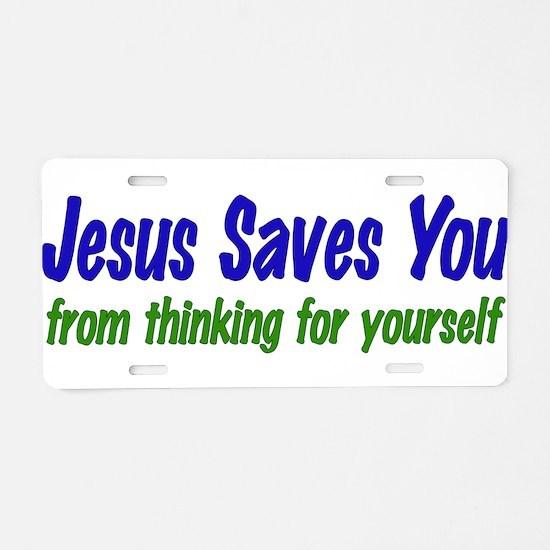 Freethinker Aluminum License Plate