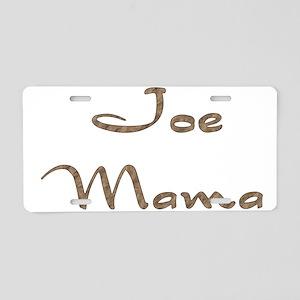 Joe Mama Aluminum License Plate