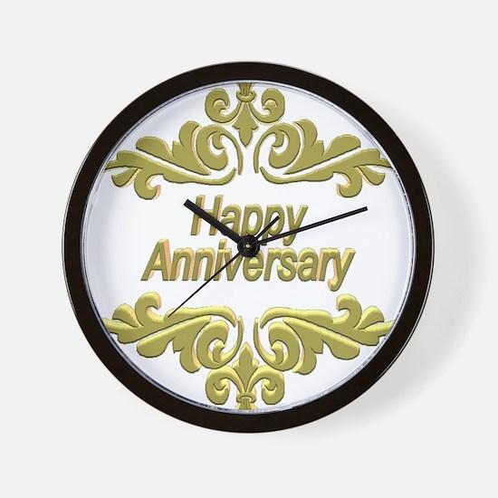 Wedding Anniversary Wall Clock
