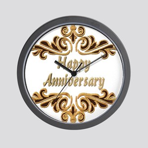 Wedding Anniversary Wall Clock
