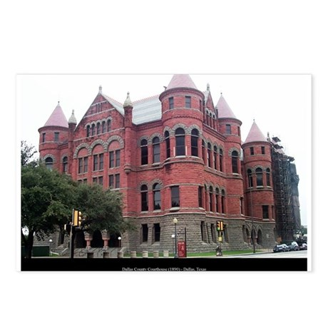 Dallas County Courthouse Postcards (Package of 8)