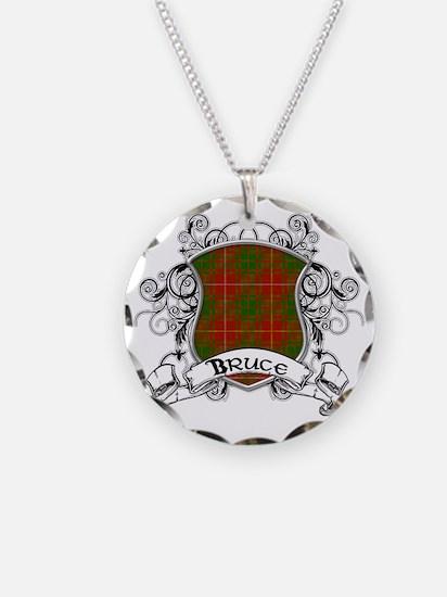 Bruce Tartan Shield Necklace