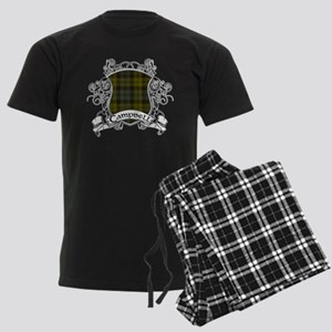 Campbell Tartan Shield Men's Dark Pajamas