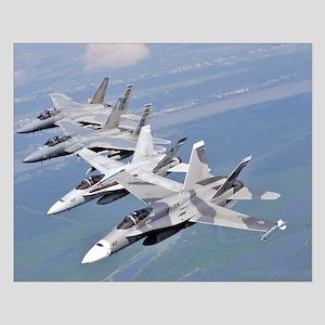 F-18's and F-15's over Louisiana