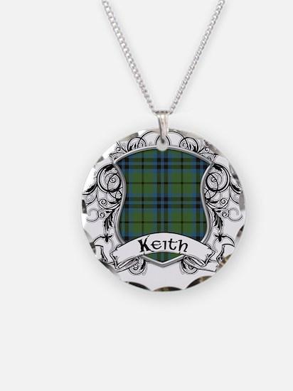 Keith Tartan Shield Necklace