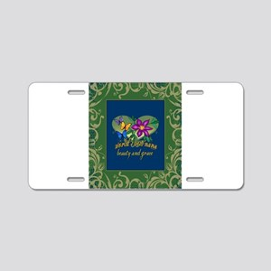 Beautiful Nana Aluminum License Plate