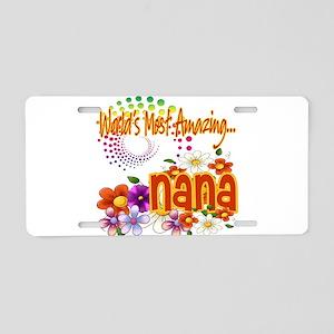 Most Amazing Nana Aluminum License Plate
