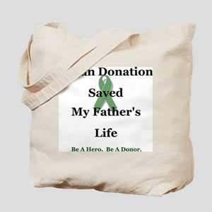 Father Transplant Tote Bag