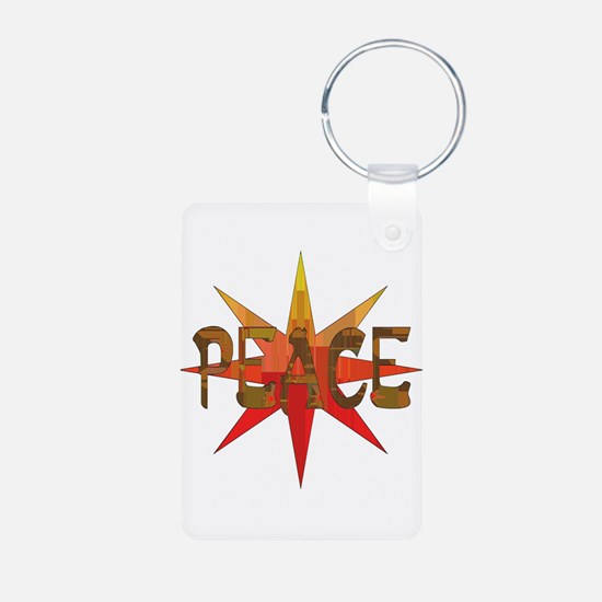 Peace Flowering Keychains