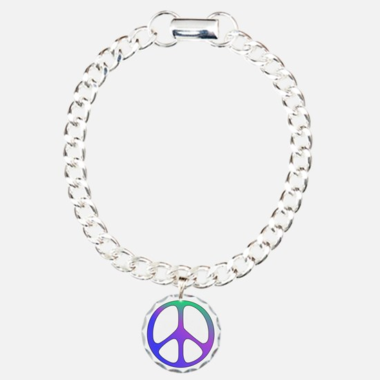 Rainbow Colored Peace Si Bracelet