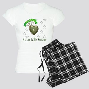 Nature Is My Religion Women's Light Pajamas