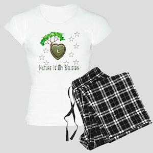Nature Is My Religion Women's Light Pajamas