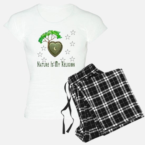 Nature Is My Religion Pajamas