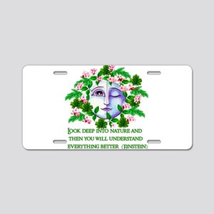 Pagan Spring Goddess Aluminum License Plate