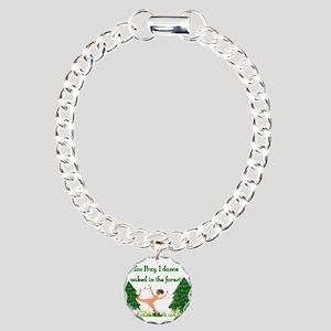 Naked Pagan Charm Bracelet, One Charm
