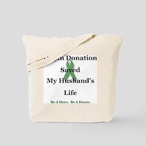 Husband Transplant Tote Bag