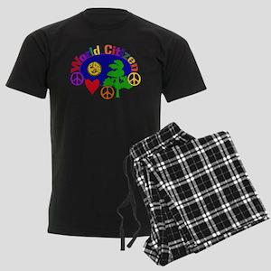 World Citizen Men's Dark Pajamas