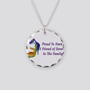Friends Of Dorothy Necklace Circle Charm