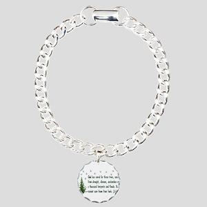 Nature Conservation Charm Bracelet, One Charm