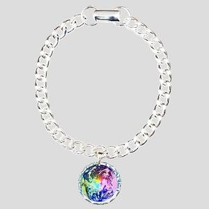 Save The Planet Charm Bracelet, One Charm