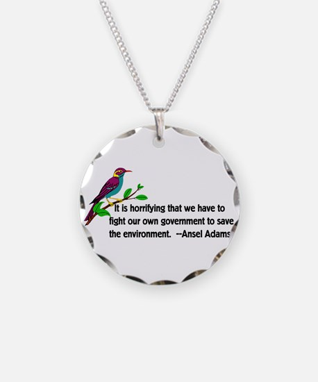 Fighting The Government Necklace