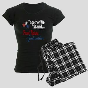 Marine Godmother Women's Dark Pajamas