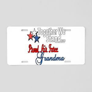 Air Force Grandma Aluminum License Plate