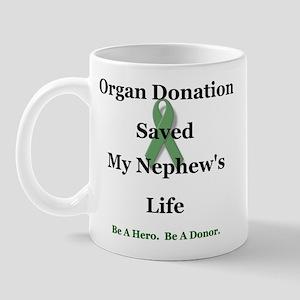 Nephew Transplant Mug