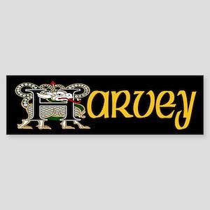 Harvey Celtic Dragon Bumper Sticker