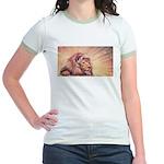 Dawn Lion Jr. Ringer T-Shirt