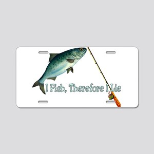 Fisherman Shirt Aluminum License Plate