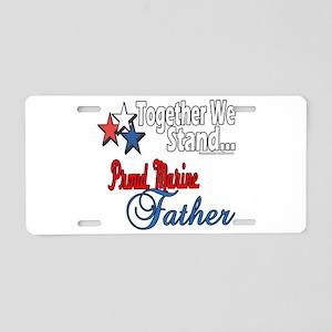 Marine Daddy Aluminum License Plate