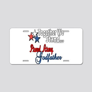 Army Godfather Aluminum License Plate