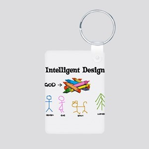 Crayon Science Aluminum Photo Keychain