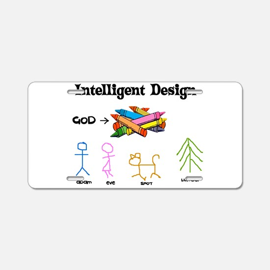 Crayon Science Aluminum License Plate