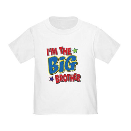 Big brother kids toddler t shirt big brother t for Big brother shirts for toddlers carters