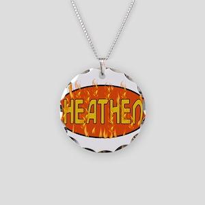 Heathen Necklace Circle Charm