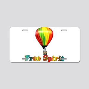 Free Spirit Aluminum License Plate