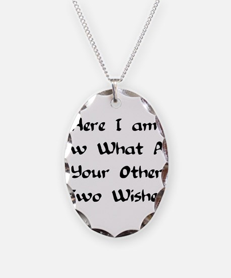 Here I Am Now What Are Your O Necklace