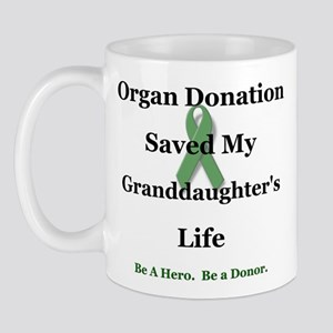Granddaughter Transplant Mug